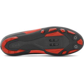 Fizik Terra X5 MTB Schuhe Herren schwarz/rot